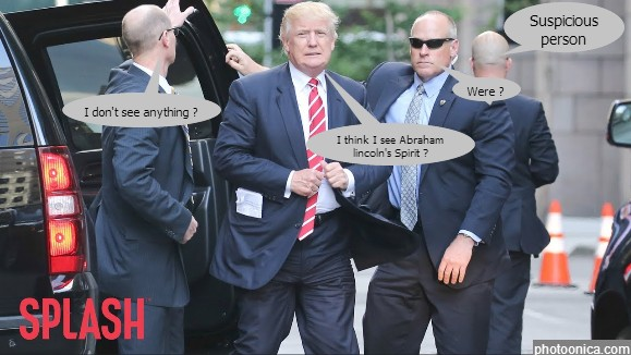 Trumps Secret Service Agents
