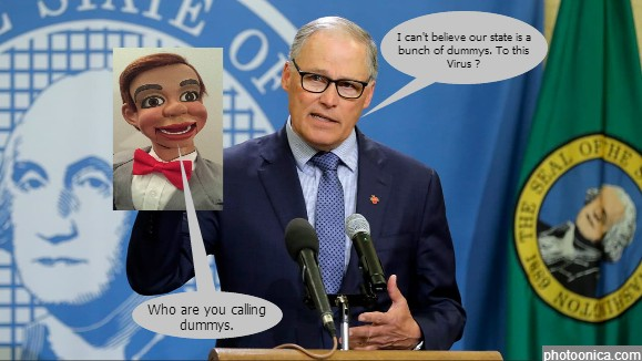 Gov Jay Inslee the Ventriloquist